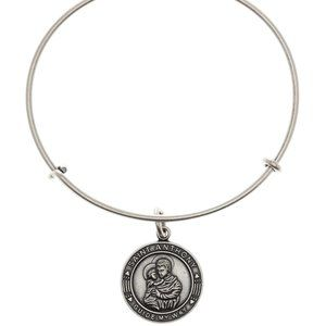 Alex and Ani Saint Anthony Charm Bangle Bracelet